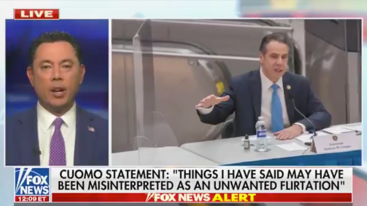 Jason Chaffetz schooled by Fox News reporter live on-air after he says corporate media is 'far behind' on Cuomo scandals