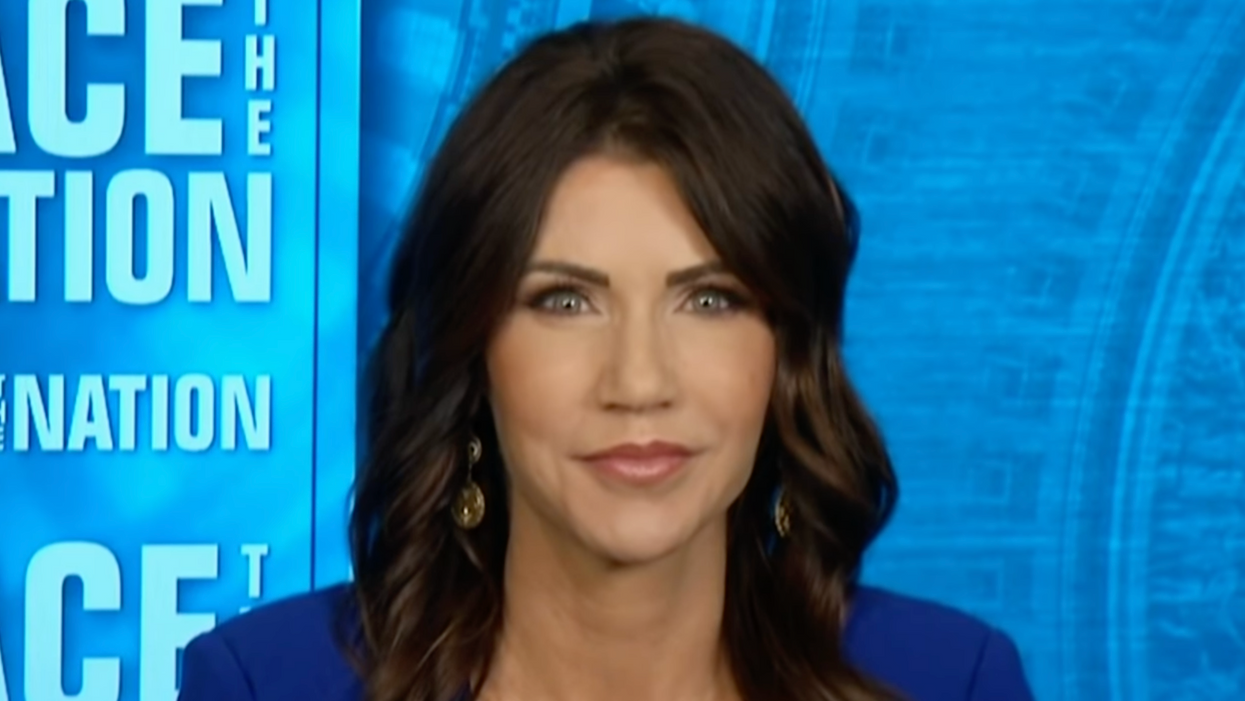 GOP Gov. Kristi Noem looked like a star — until a journalist brought her back down to Earth
