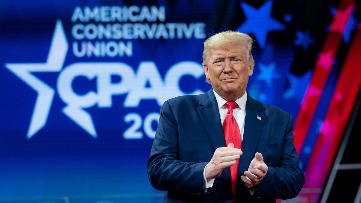 Trump's sad little spectacle at CPAC sent Republicans a warning shot