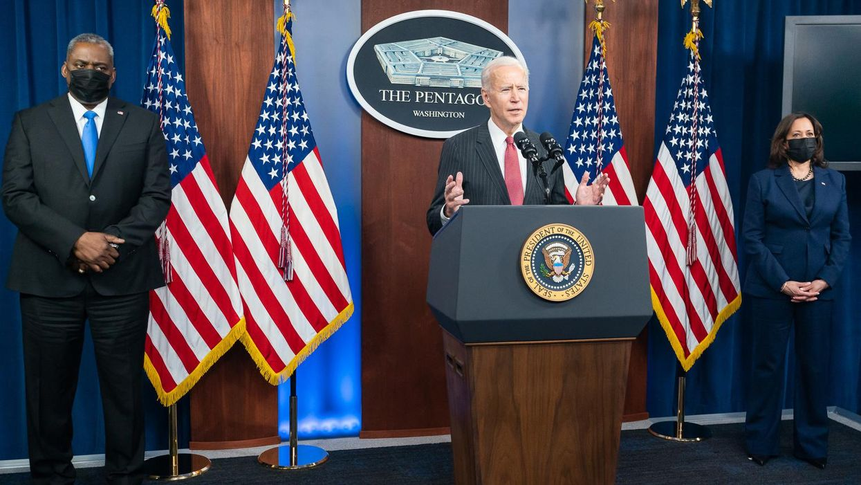 Here's how to force Biden to cut the Pentagon's budget