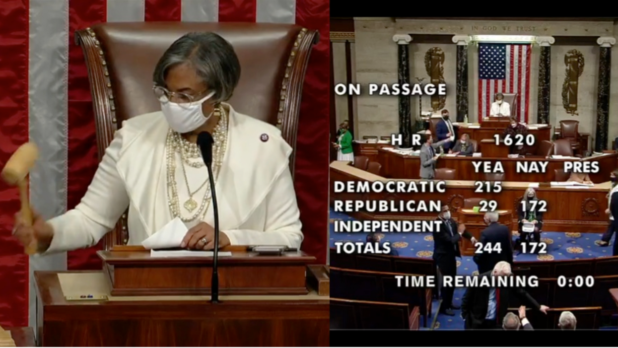 A stunning 172 Republicans vote to oppose the Violence Against Women Act