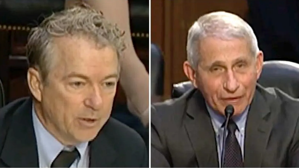 'You're not hearing what I'm saying': Rand Paul embarrasses himself in an attempt to play gotcha with Fauci