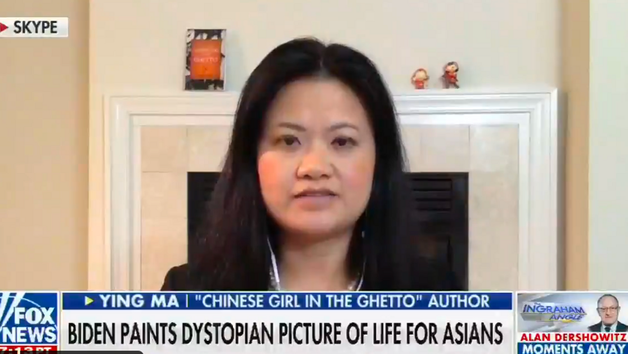 Fox News guest insists all Chinese Americans should denounce China over the coronavirus