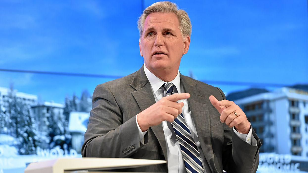McCarthy faces Twitter storm after trying to 'rewrite history' of support for Trump's attempted coup