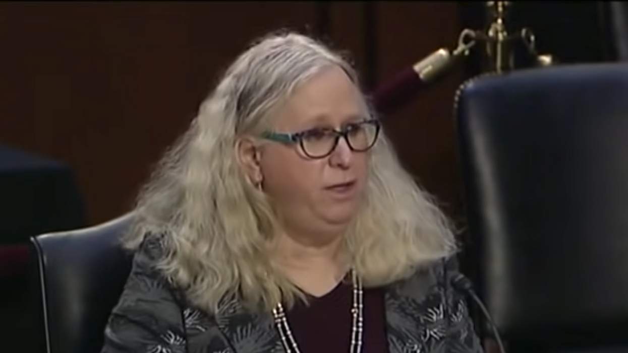 Dr. Rachel Levine becomes first openly trans federal Nominee confirmed by the Senate in historic vote