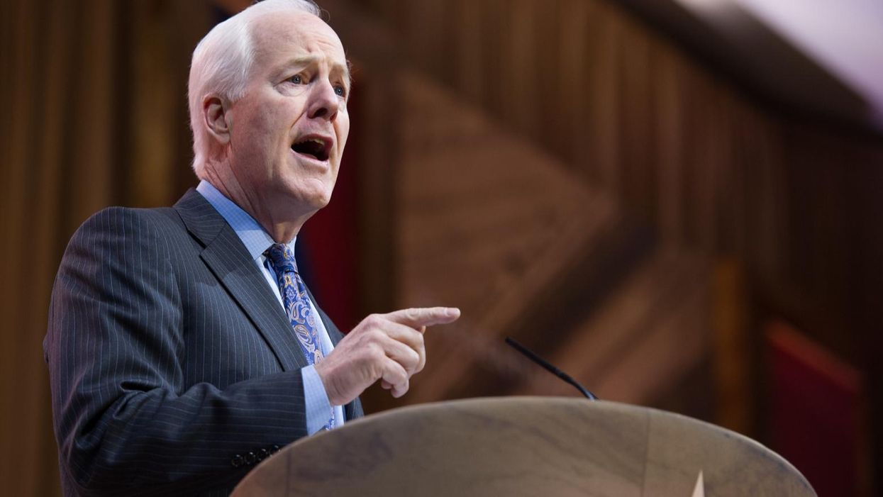 Here's the gift GOP Sen. John Cornyn inadvertently gave to Biden on immigration