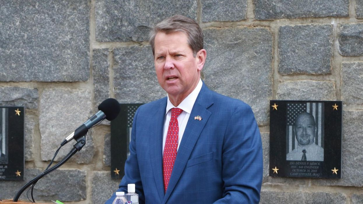 Georgia Gov. Brian Kemp signs law decried as 'a massive and unabashed assault on voting rights'