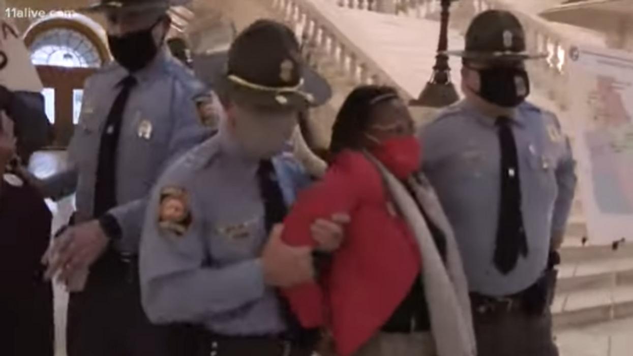 Park Cannon's arrest sets Twitter ablaze as outraged voters blast Georgia law enforcement