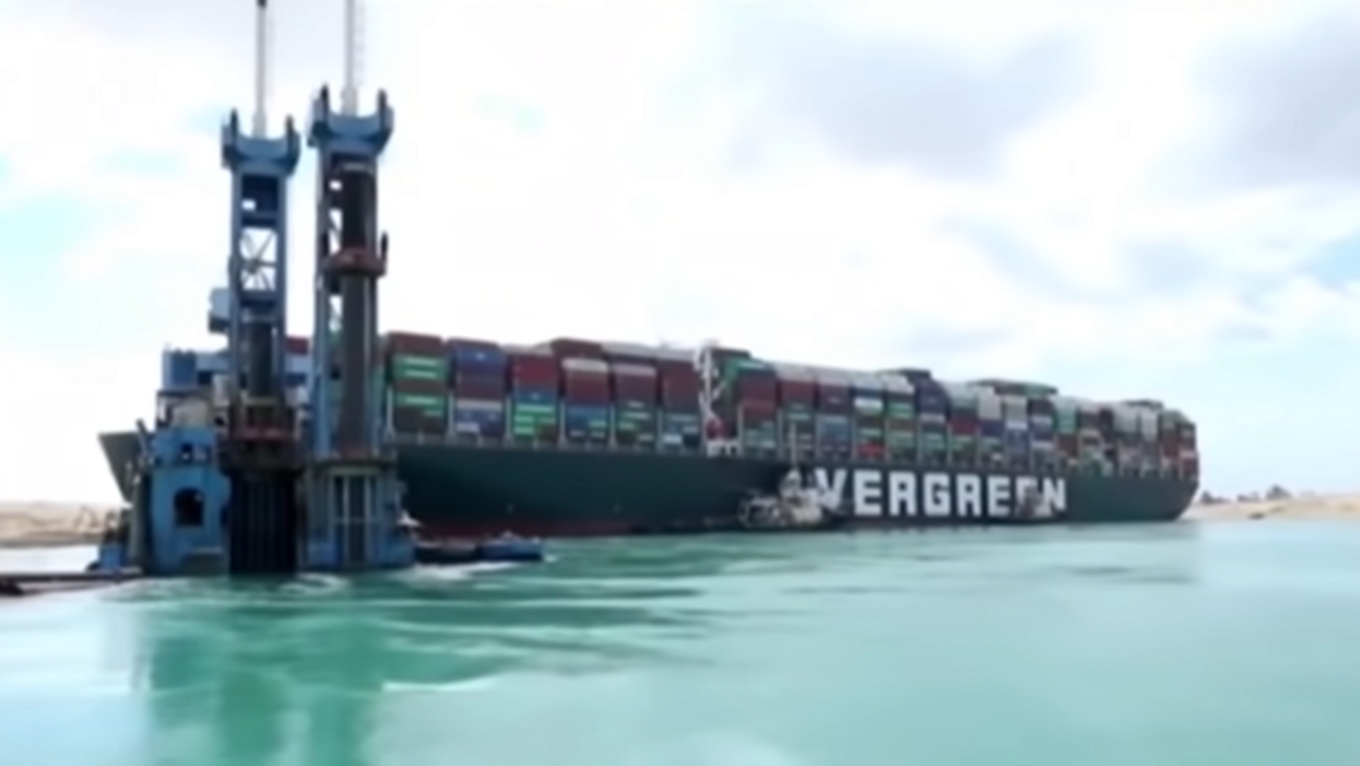 Suez Canal blockage: Here's what it takes to unwedge a megaship