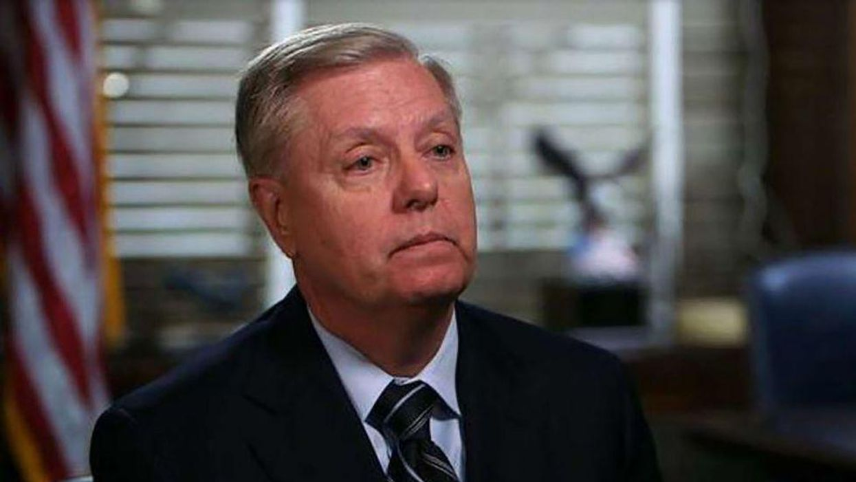 'We're tired of it': Lindsey Graham accuses Biden of playing 'the race card'