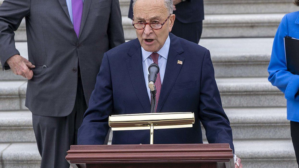 How a new ruling from the Senate parliamentarian could hamstring Schumer and Biden on infrastructure