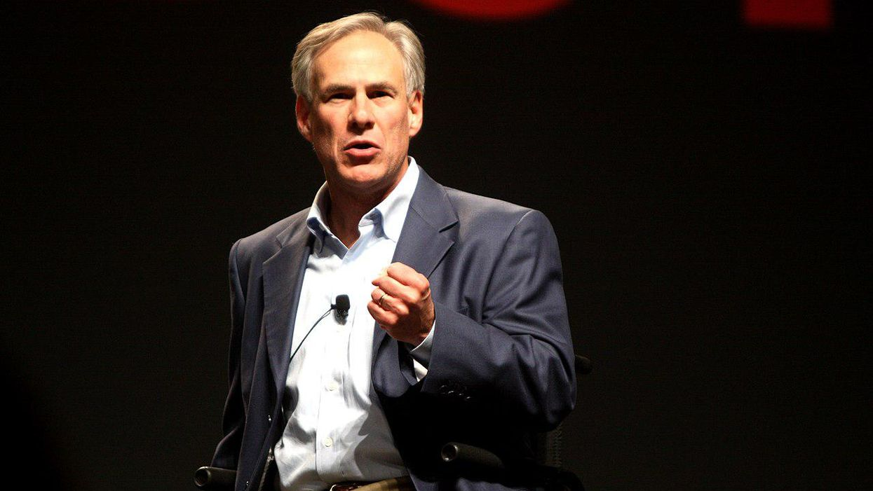 Greg Abbott bizarrely suggests Democratic election reform allows 'using cocaine to buy votes'