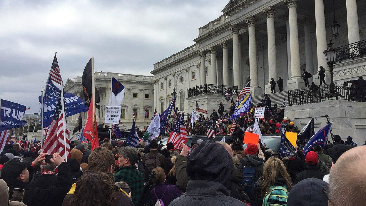 A GOP pundit attempted to downplay and whitewash the Capitol riot. It backfired big time
