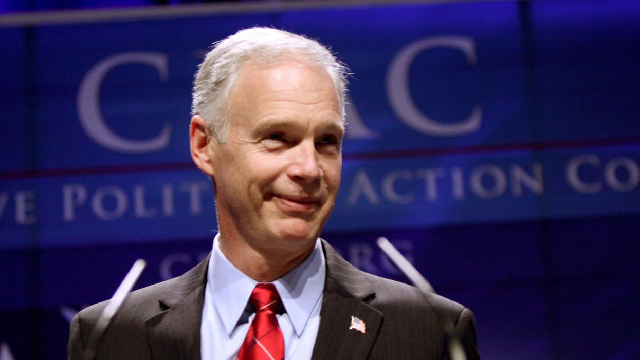 Ron Johnson finally pushed the Democrats too far for decorum