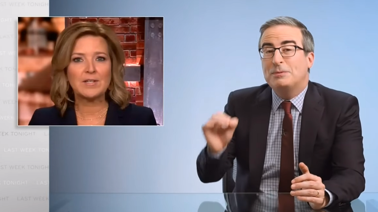 John Oliver slams Republicans with hilarious take-down of Mitch McConnell