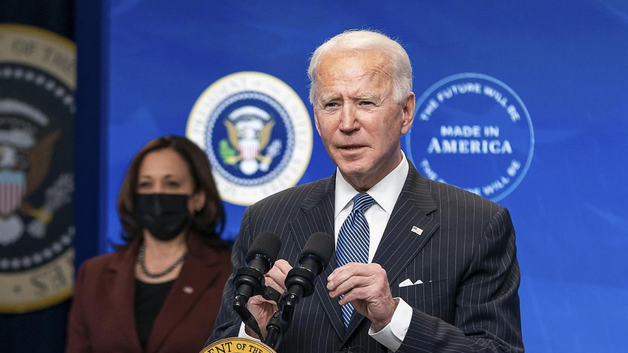 How Biden found a way out of a 'toxic dilemma' by creating a 'new reasonable'