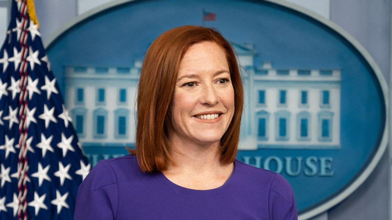 Jen Psaki had a hilarious response to a right-wing reporter pushing GOP talking points
