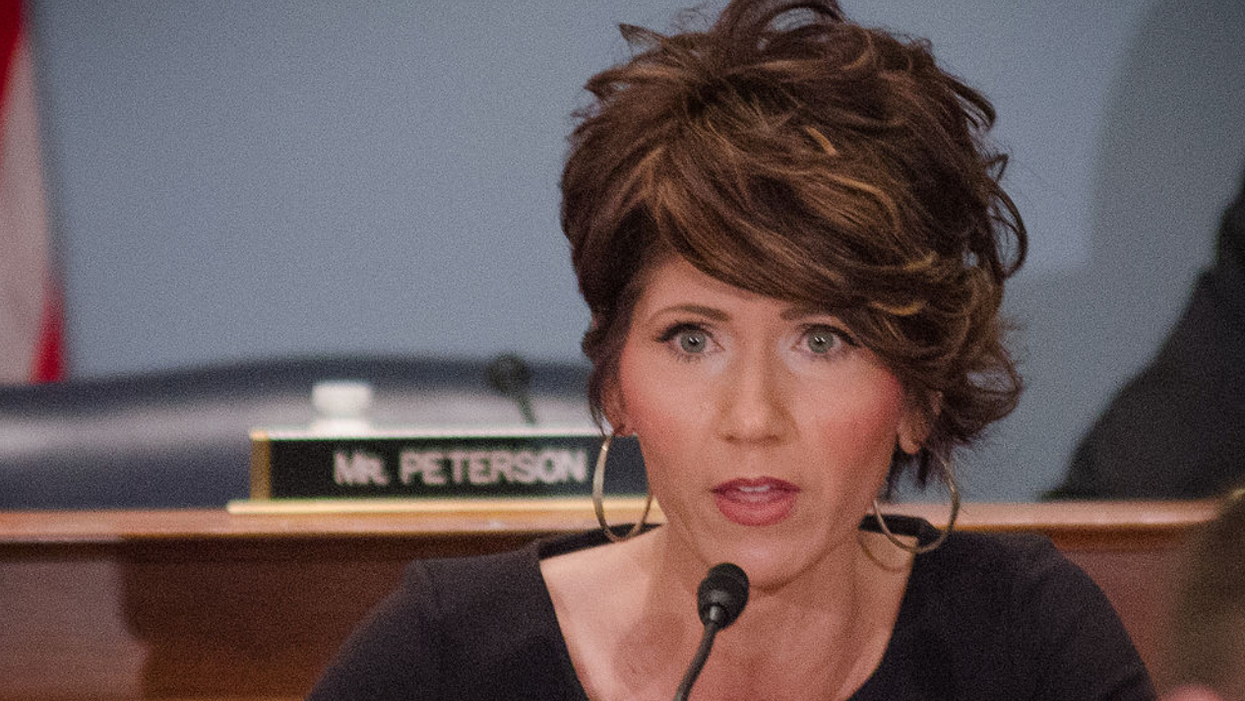 Kristi Noem mocked after admitting she's 'shocked' Biden's infrastructure plan includes money for 'housing and pipes'
