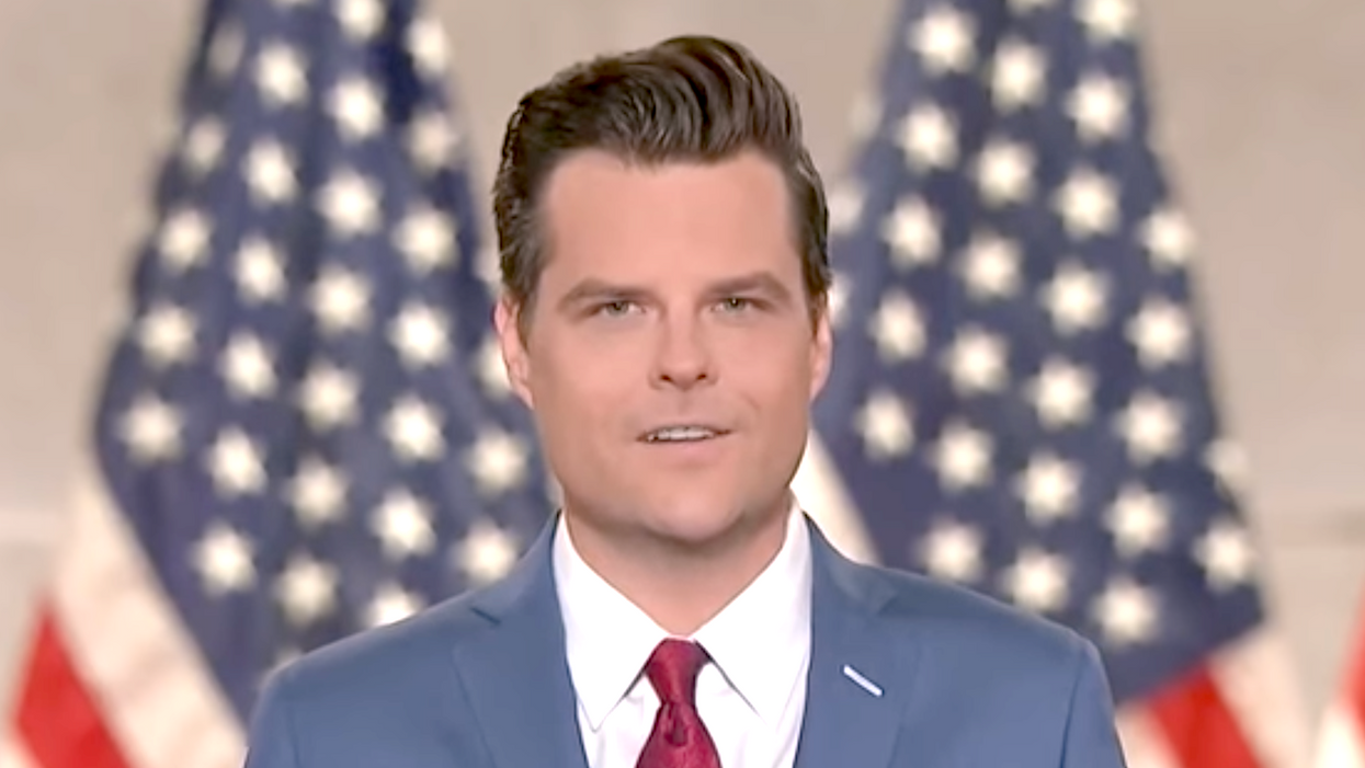 This quote from Matt Gaetz's book looks so much worse after his sex scandal blew up