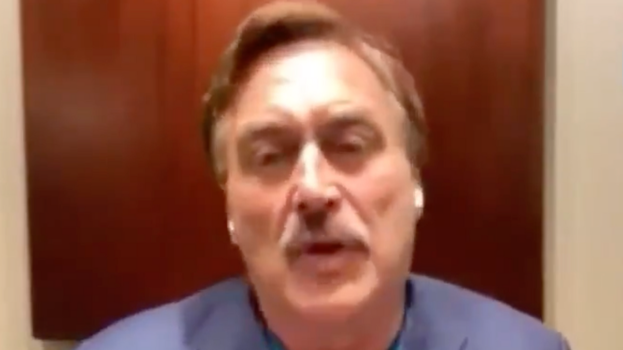 My Pillow guy rants about 'a very coordinated plan' to get Trump back in White House this summer