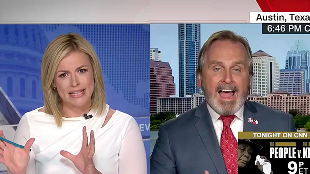 Texas Republican goes down in flames against CNN host after trying to justify voter suppression