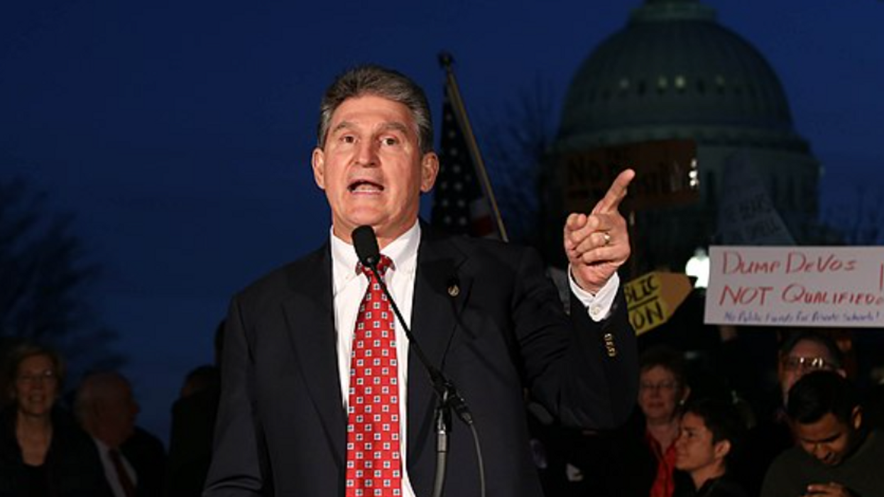 Democratic activist shreds Manchin's defense of the filibuster — and explains why it's bad for West Virginia