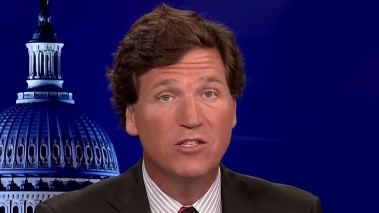 Tucker Carlson's latest shtick gets big thumbs-up from white nationalist hate group