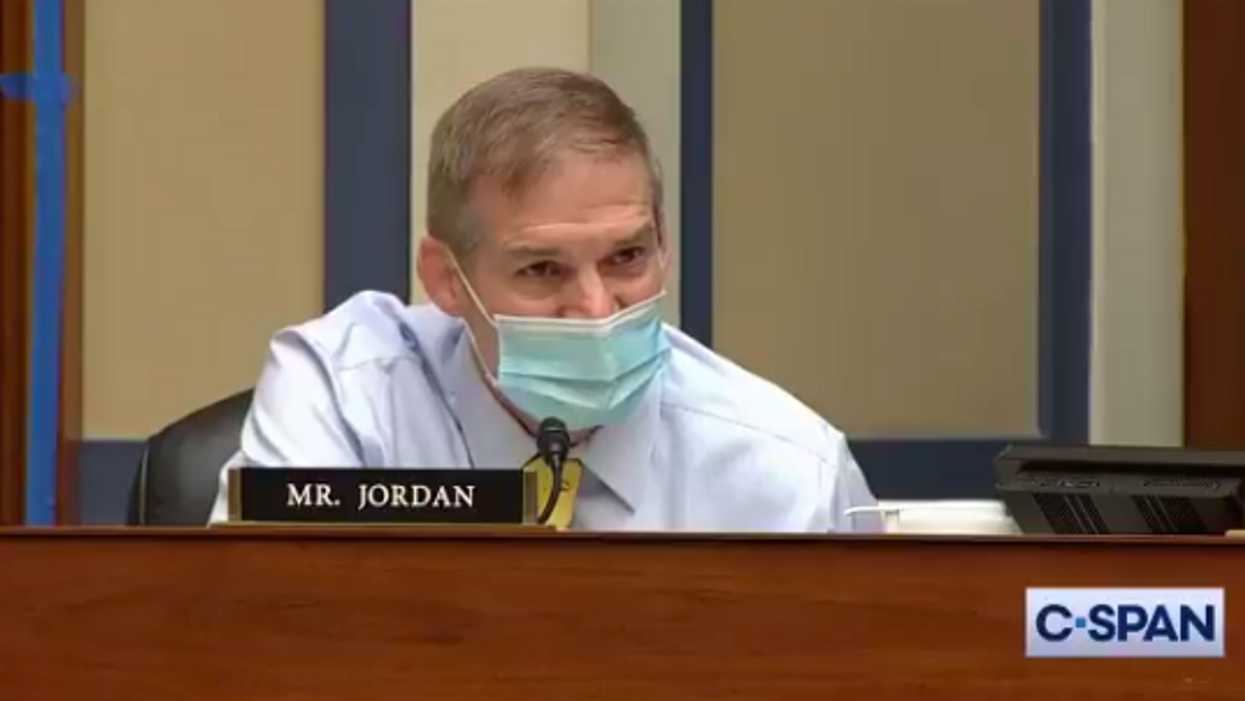 'Shut your mouth': Hearing goes totally off the rails after Jim Jordan rages against Dr. Fauci