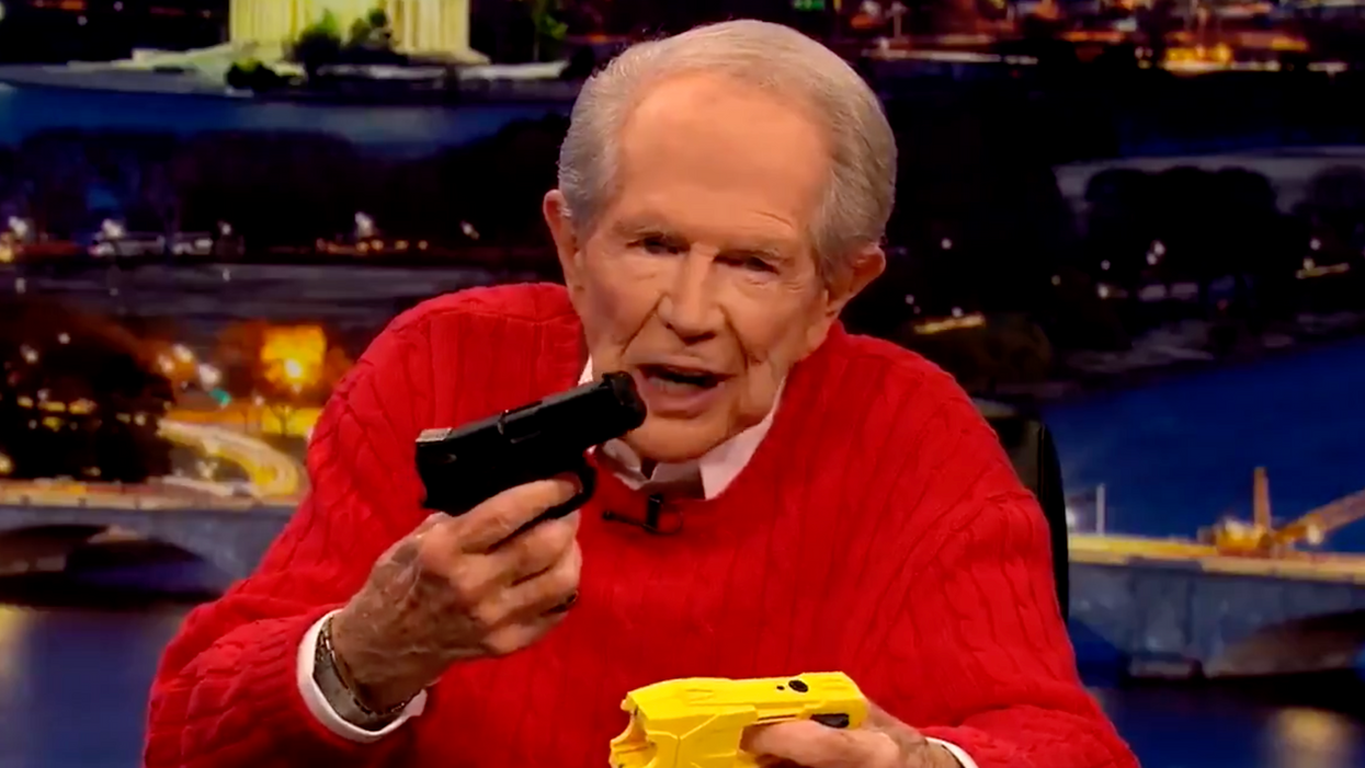 'Stop this onslaught': Pat Robertson comes out with a surprising rebuke of police killings and abuse