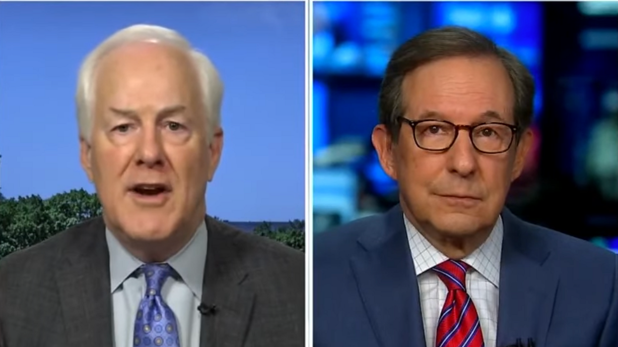 'Is that helpful?' Chris Wallace confronts John Cornyn over tweet suggesting Biden not in charge
