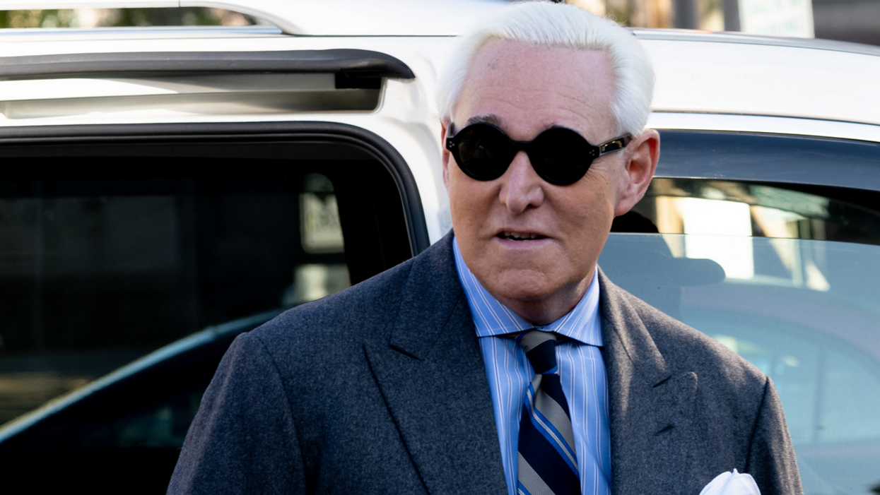 Roger Stone's latest hustle finds him groveling for mercy — and cash