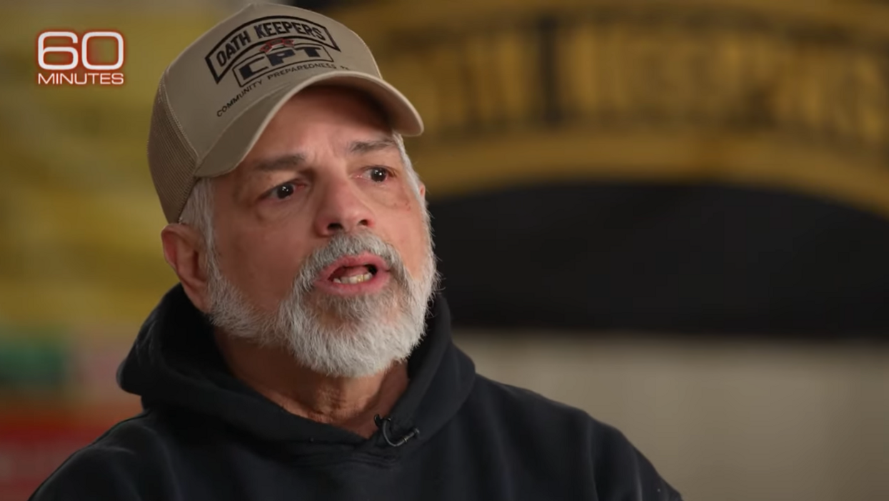 Oath Keepers leader reveals militia are being trained by police in '60 Minutes' interview