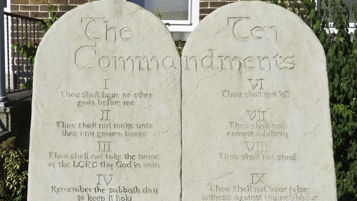 North Dakota governor signs law allowing Ten Commandments to be posted in public schools