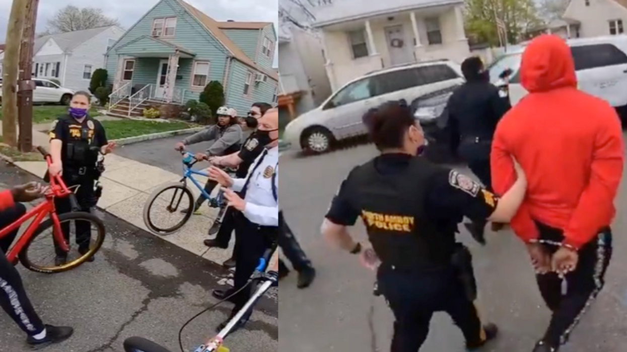 'Riding bikes while Black': New Jersey cops under fire for confiscating bike and arresting teen
