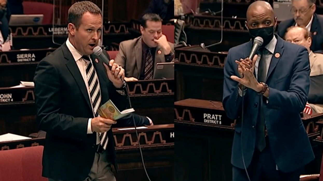 Arizona lawmaker uses racist slur and calls for Black representative to 'be sat down' and not 'be allowed to speak'