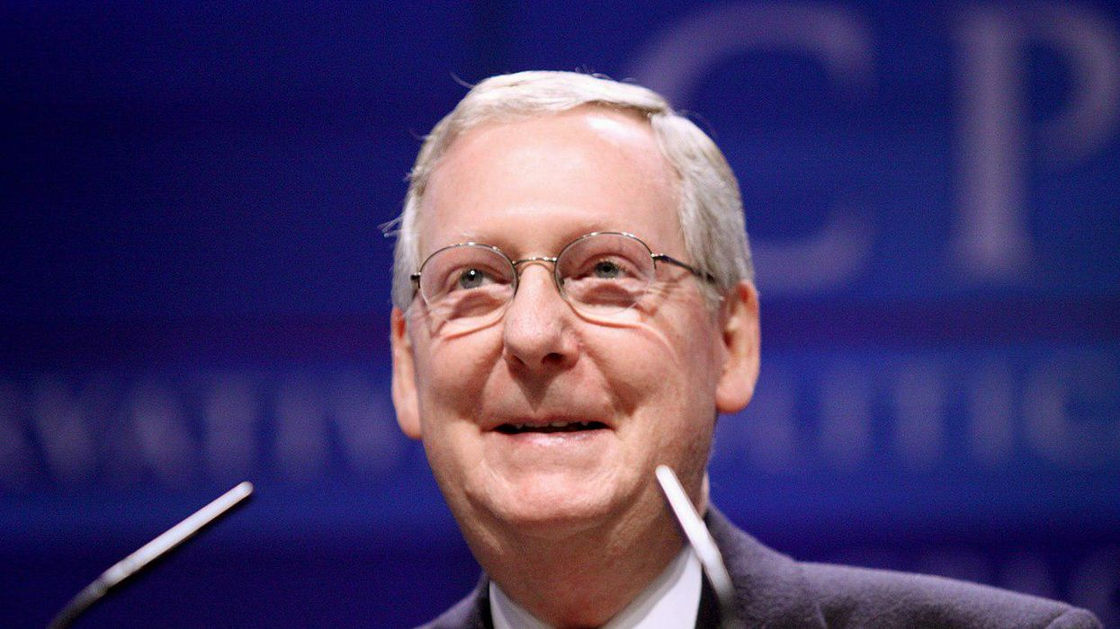 Scathing attack ad from conservative group reminds Trump that Mitch McConnell now runs the GOP