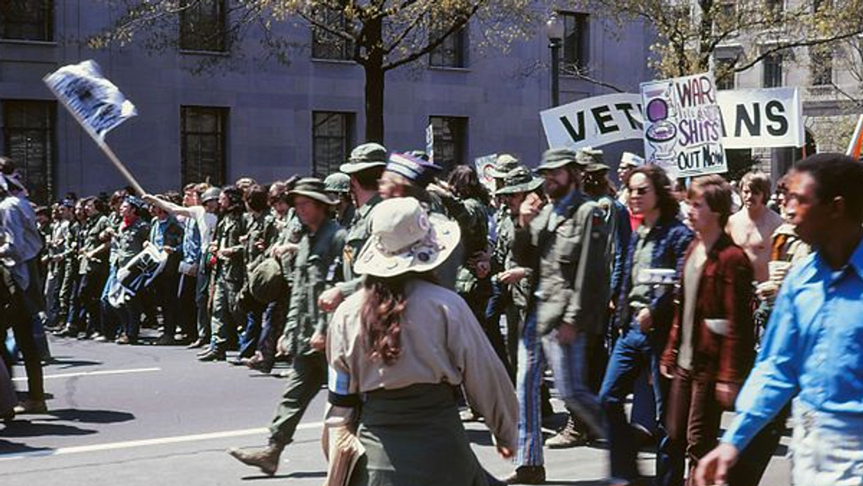 Historian: The real patriots invaded the nation's capital fifty years ago