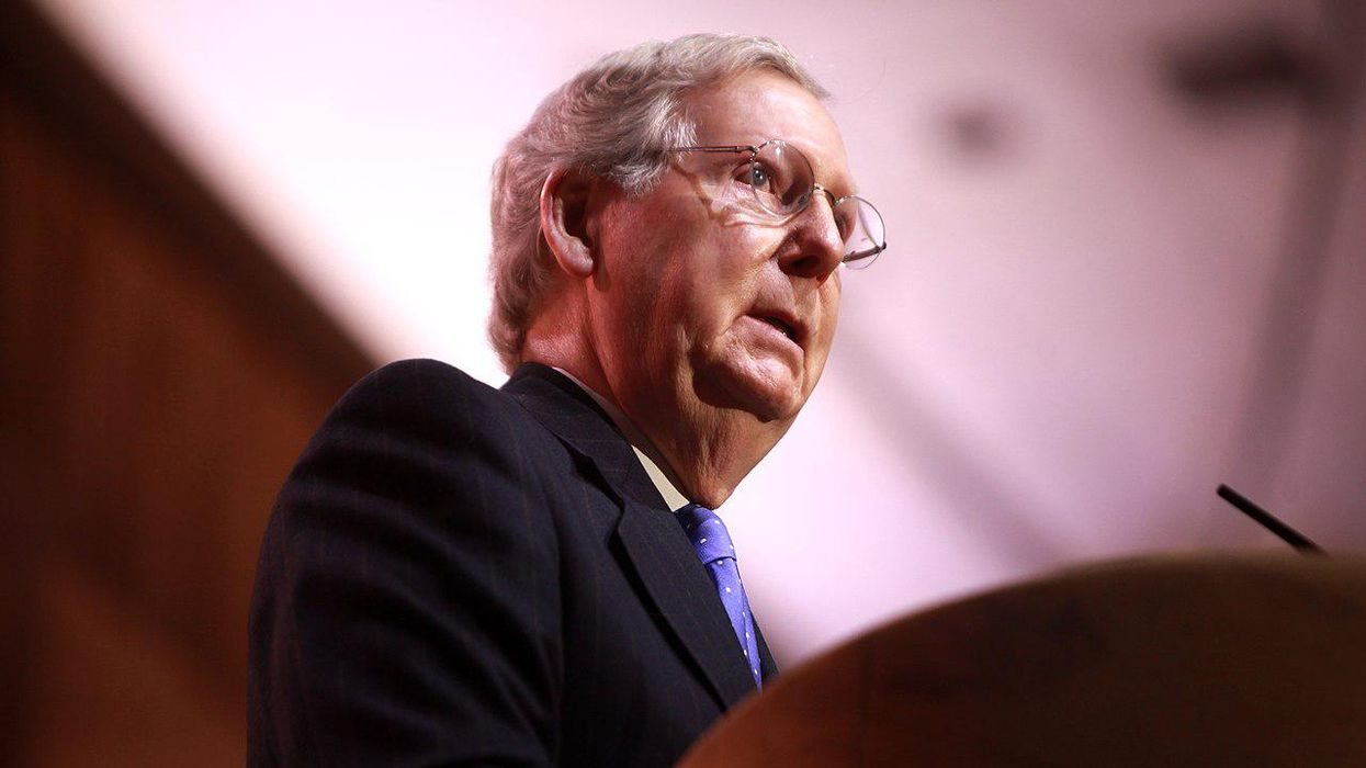 Mitch McConnell's hypocrisy on bold display after he tells CEOs to 'stay out of politics'