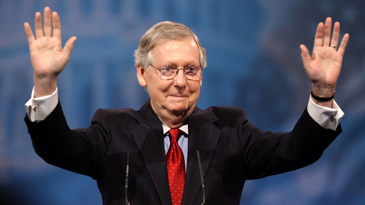Mitch McConnell declares war on 21st century America