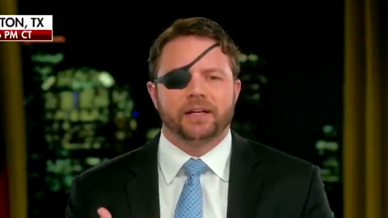 'Unhinged': Texas Republican Dan Crenshaw mocked for calling companies opposing voter suppression 'fascism'