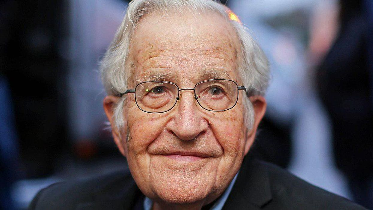 Here's why Noam Chomsky is surprised by Joe Biden's presidency