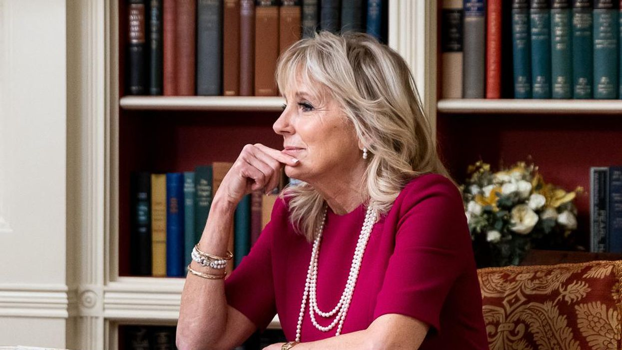 The right wing launches a new sexist attack against First Lady Jill Biden