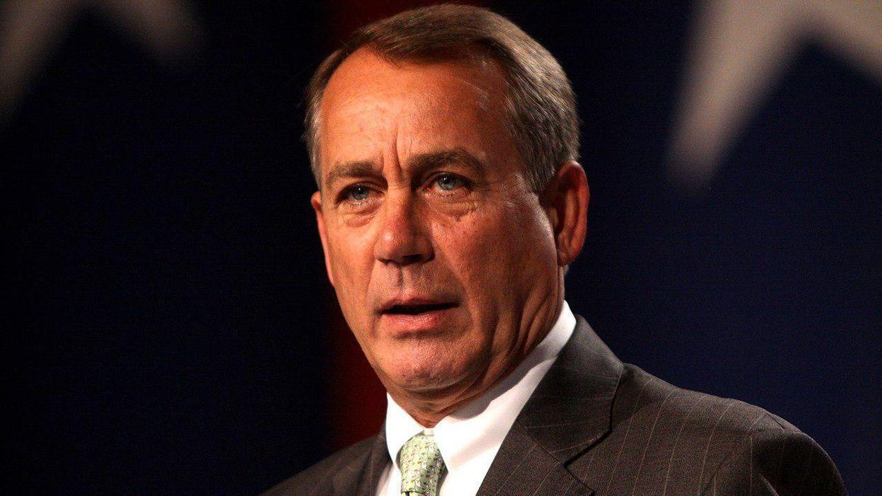 Michele Bachmann sounds off on John Boehner after he calls Fox viewers 'lunatics'