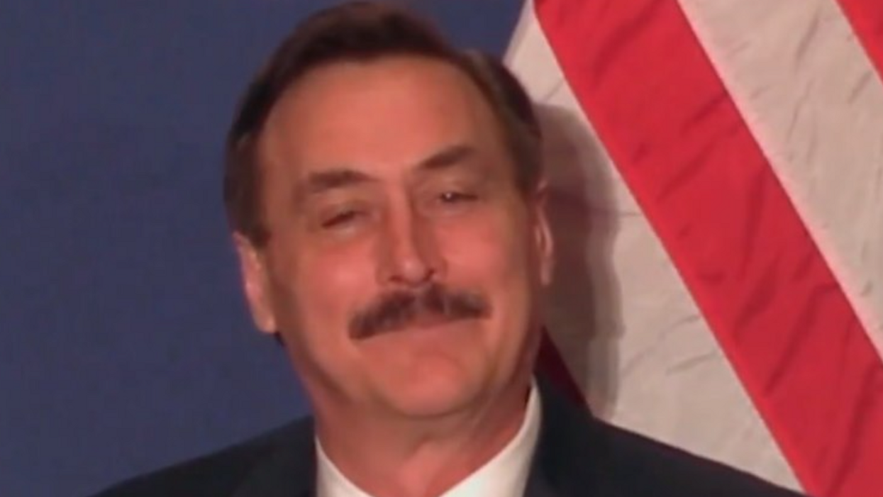 MyPillow's Mike Lindell tells Steve Bannon he's hired private investigators to probe Fox News