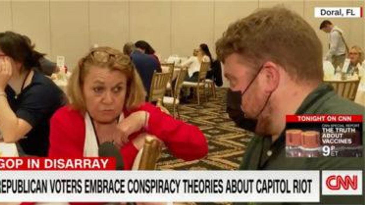 Watch CNN interview with Trump supporter who is clearly divorced from reality