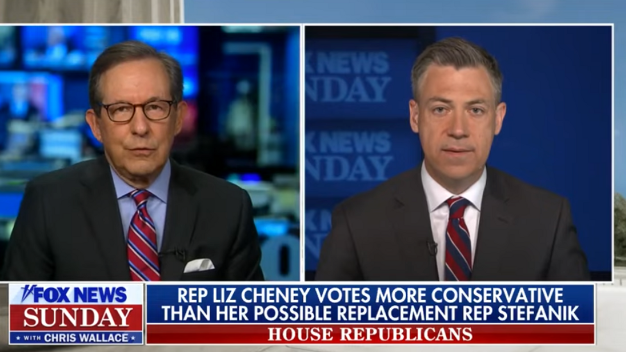 'It's a big lie': Chris Wallace challenges GOPer for refusing to say election wasn't 'stolen'