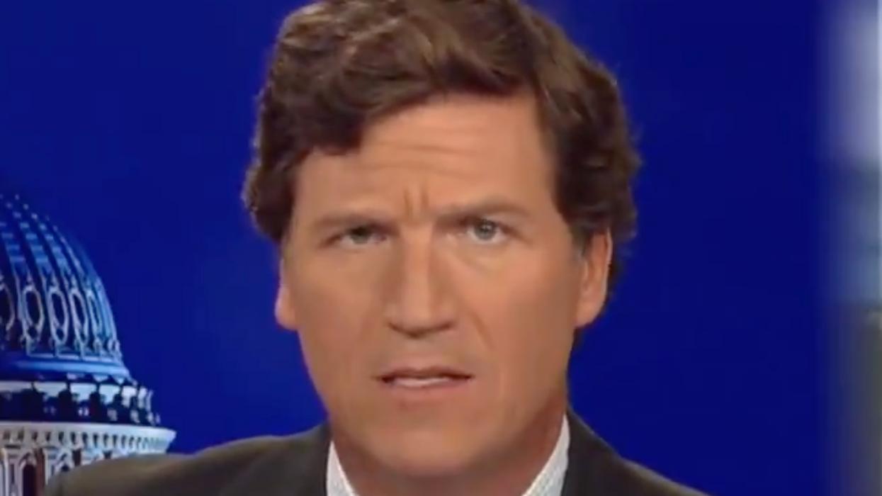 Tucker Carlson demands viewers harass people wearing masks outside: 'It's repulsive!'