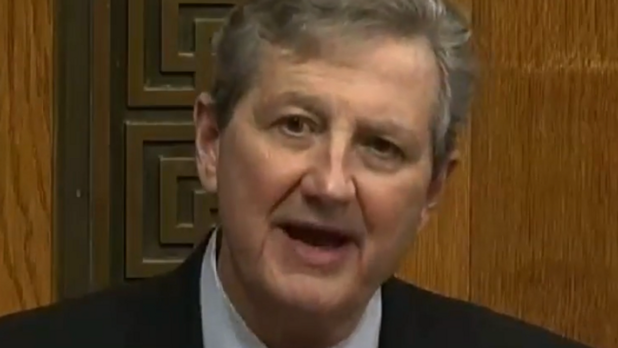 Sen. John Kennedy gets hammered on Twitter over weak argument in support of cops: 'Stupid is as Kennedy does'