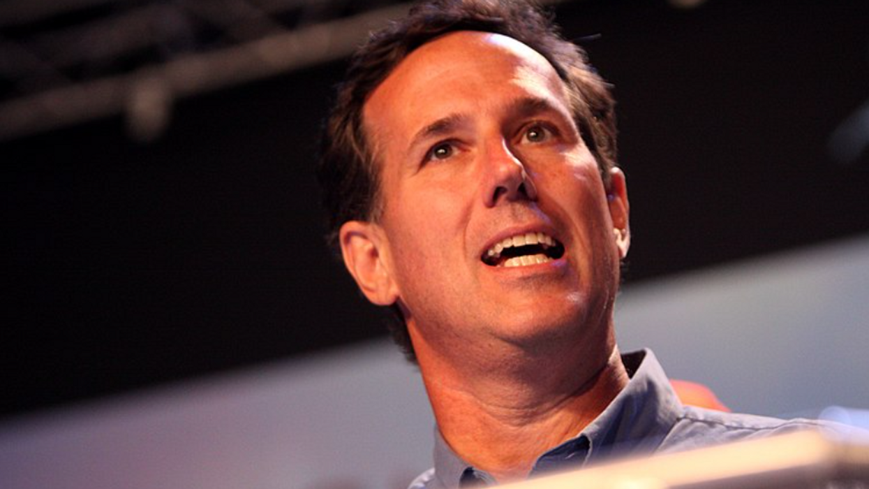 'Embarrassing racist': Native American leaders slam Rick Santorum for claiming 'nothing' was in the US before colonizers