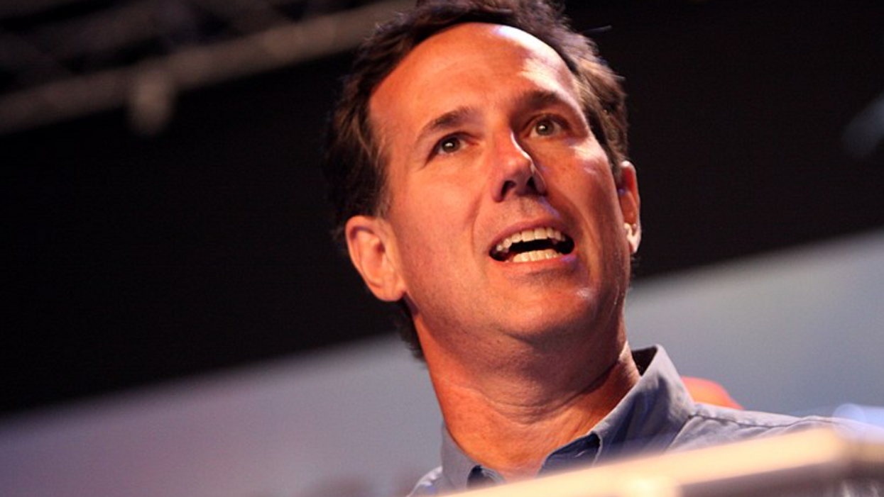 CNN's Chris Cuomo corners Rick Santorum over Native American comments